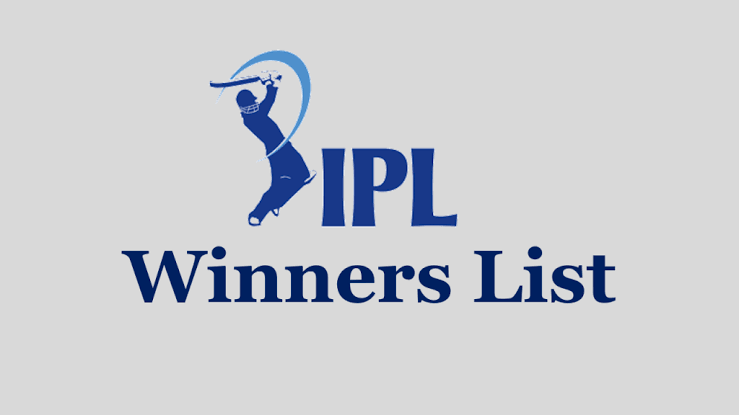 IPL Winners List | Indian Premier League Winner Teams 2008 to 2020