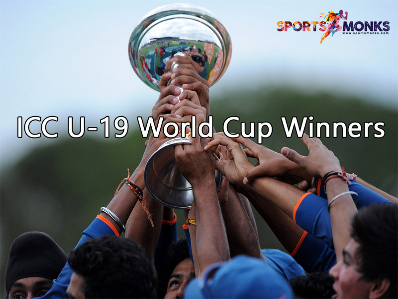 Icc Under 19 World Cup Winners List Since 1988 To 2020